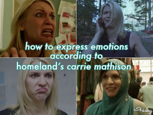 Twice in one week - Carrie Mathison emotions
