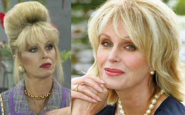 Joanna Lumley and Patsy - which one was I channeling? Here's the gory details
