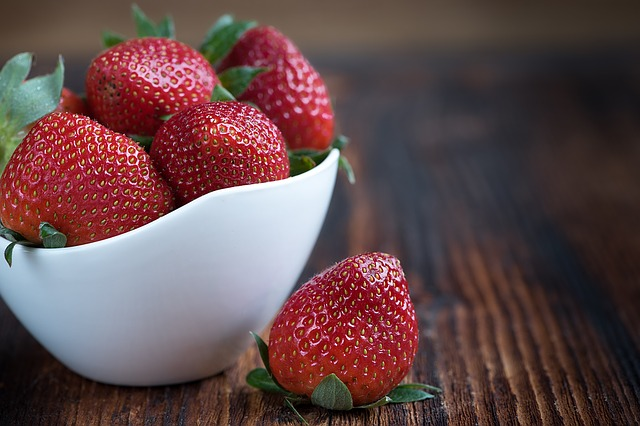 You are what you eat - mmm strawberries!